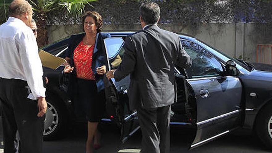 Subastados los dos Audis de Rita Barberá por 28.100 euros