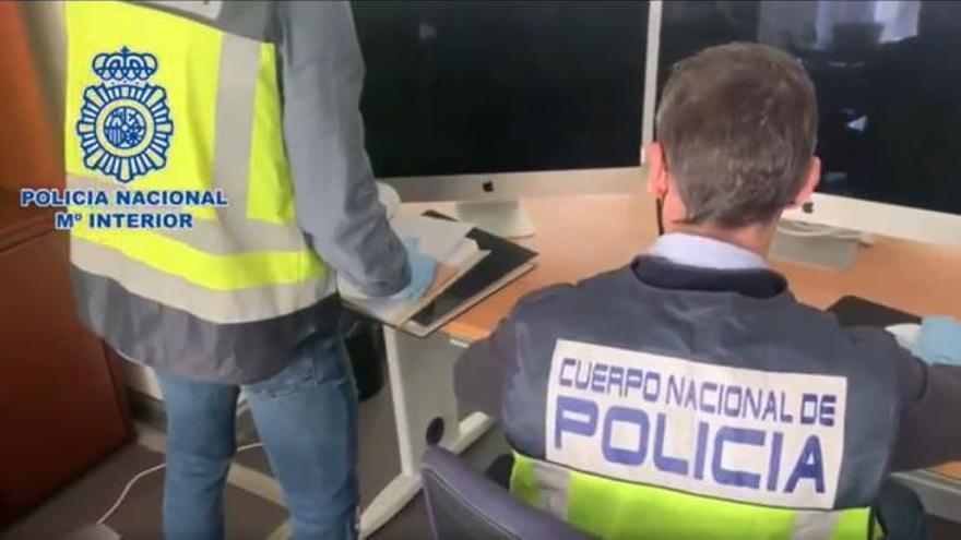 Cuatro detenidos en Alicante y Cuenca por estafar más de 7 millones con bitcoins