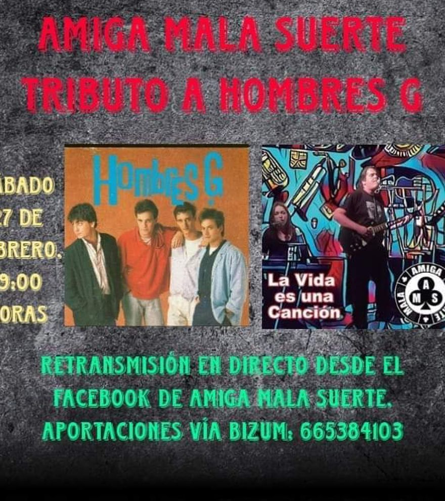 Tributo a Hombres G