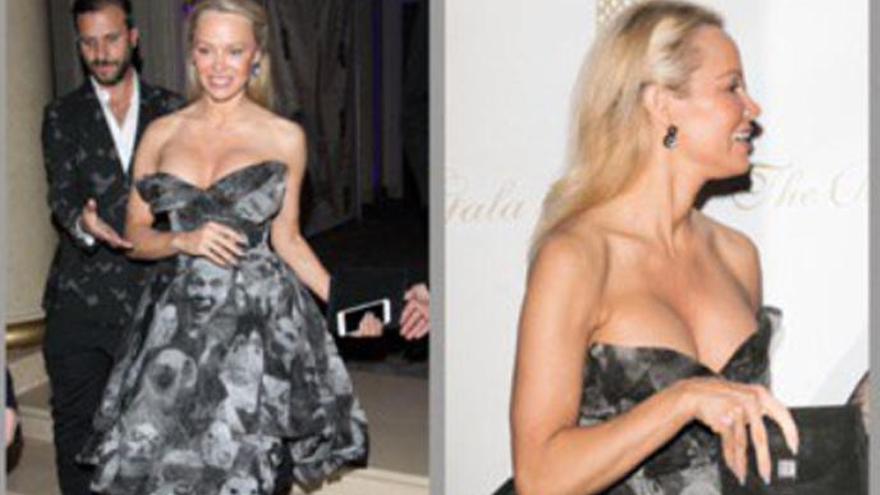 Pamela Anderson, de cambio