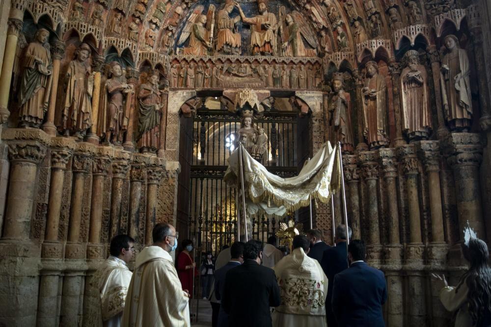 Corpus Christi en la Colegiata de Toro.