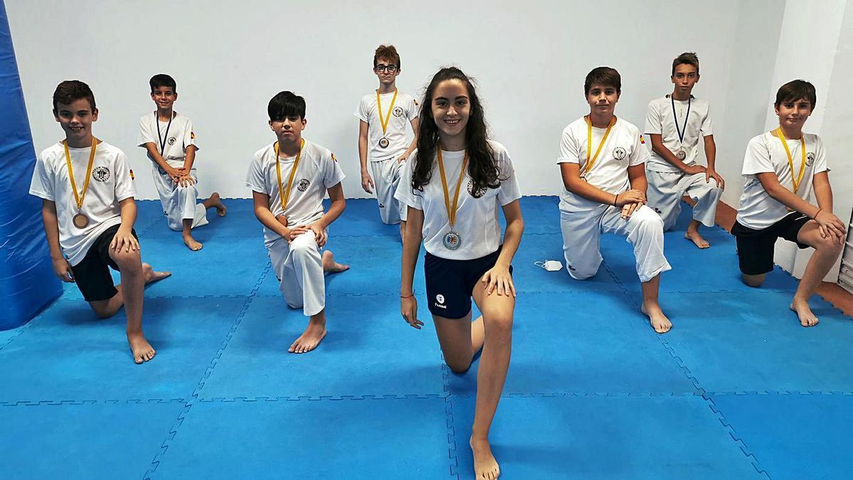 Representantes del Club de Taekwondo de Paiporta. | A.P.