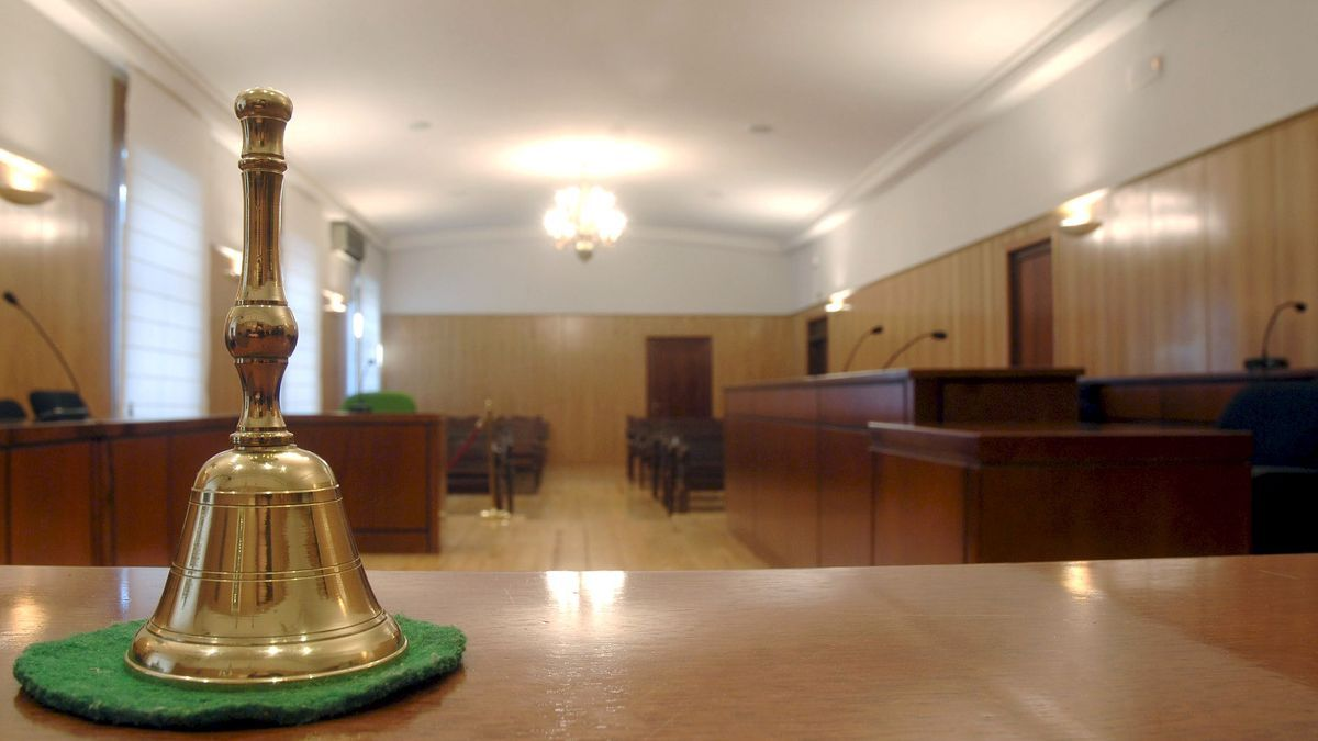 Sala de juicios.