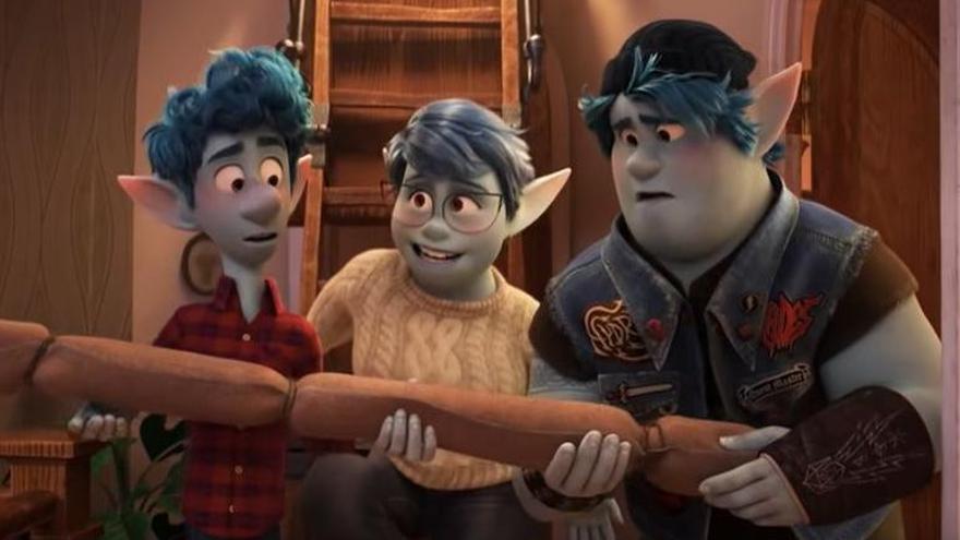 Pixar lleva la fantasía a un mundo moderno con 'Onward'