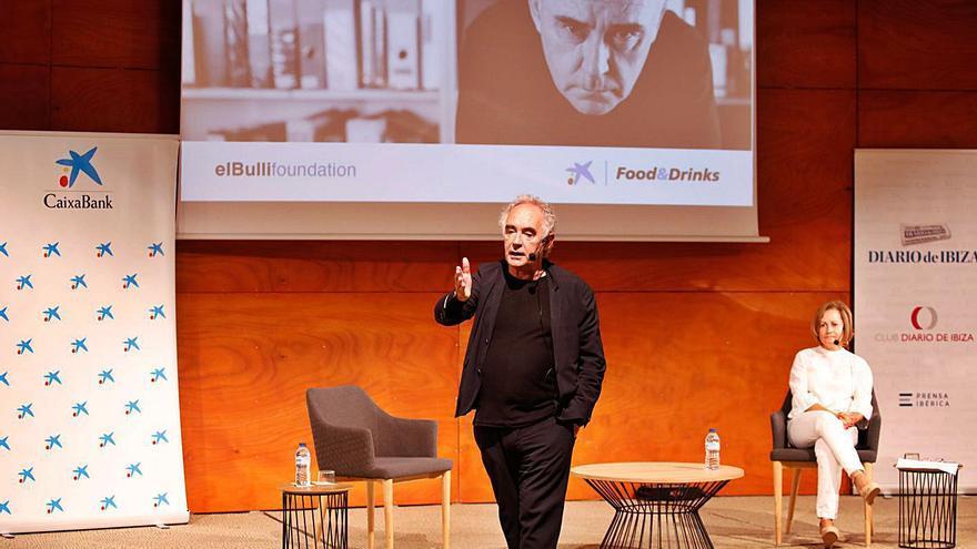 Ferran Adrià en Ibiza: «Hoy, con mi experiencia, montaría un restaurante a partir del servicio»