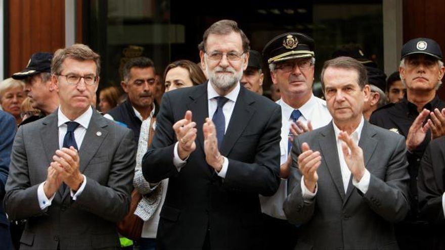 """Rajoy, sobre los incendios: """"Esto no se produce por casualidad; ha sido provocado"""""""