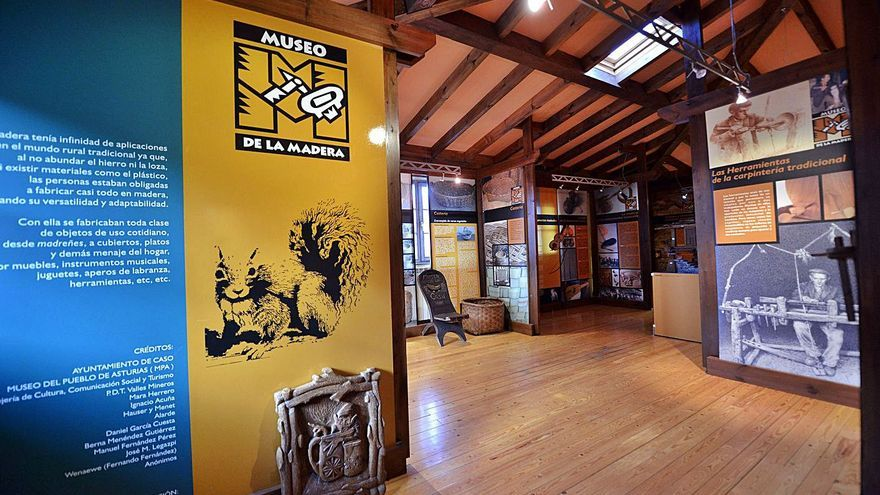Los gestores del Museo de la Madera de Caso adeudan 6.000 euros a su plantilla