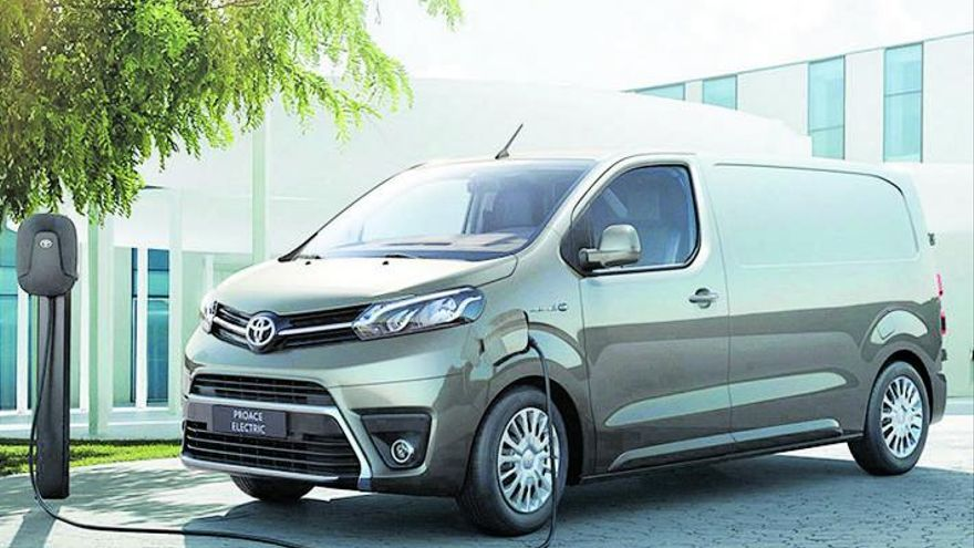 Toyota Murcia y Labasa Cartagena inician la preventa de la nueva Proace Electric Van