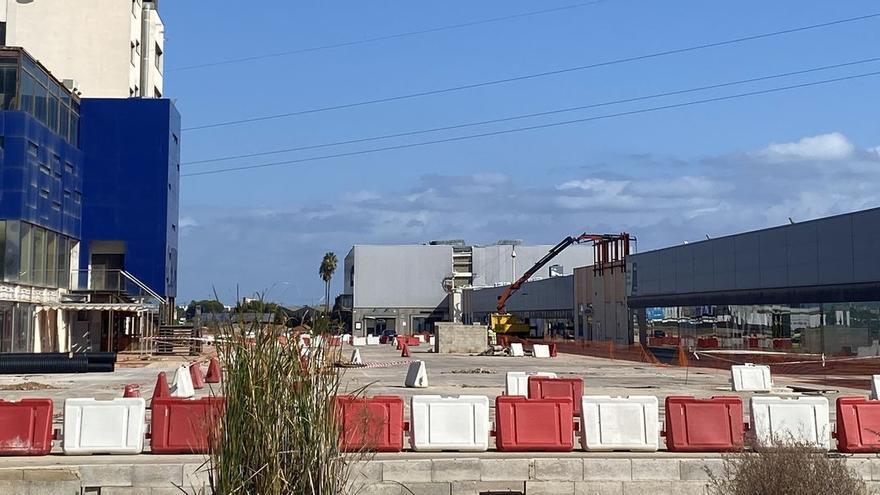 La apertura del centro comercial de Benicarló se aplaza a abril del 2022