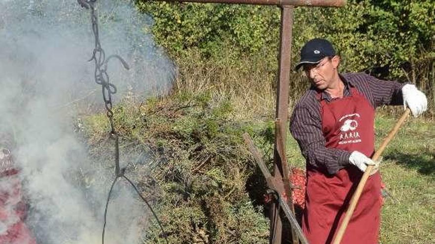 Castañas, setas y ternera para pasar el puente de Los Santos en Sejas de Aliste