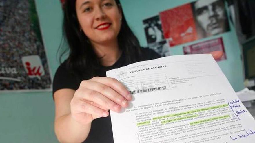 """La concejal de IU, Sara Paz, dimite por motivos """"estrictamente laborales"""""""