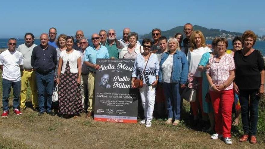 Pablo Milanés asistirá al homenaje que prepara la Coral Stella Maris