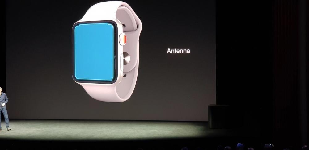 La antena del nuevo Apple Watch es… ¡la pantalla!