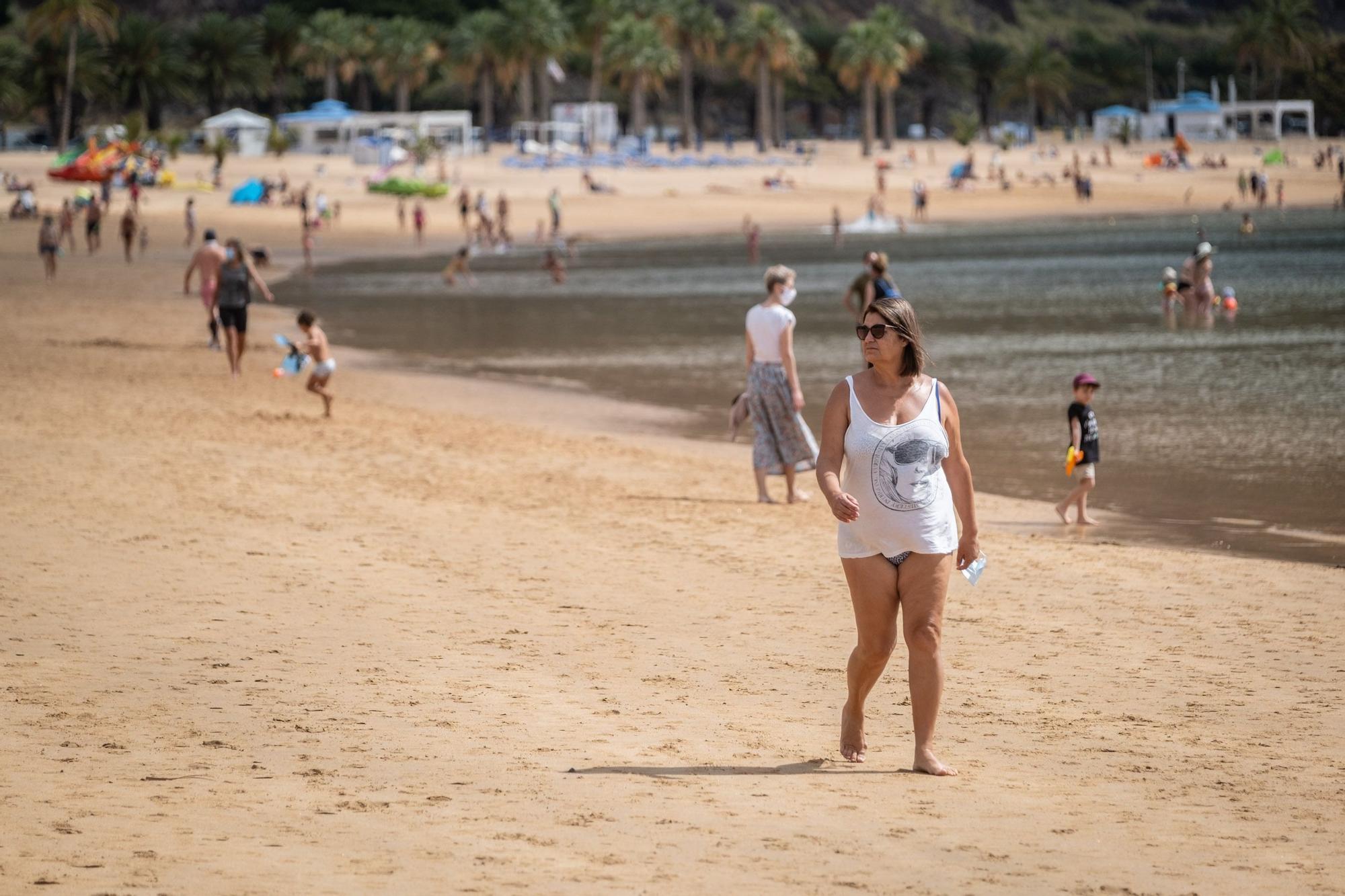 Dispositivo de seguridad en las playas de Anaga.