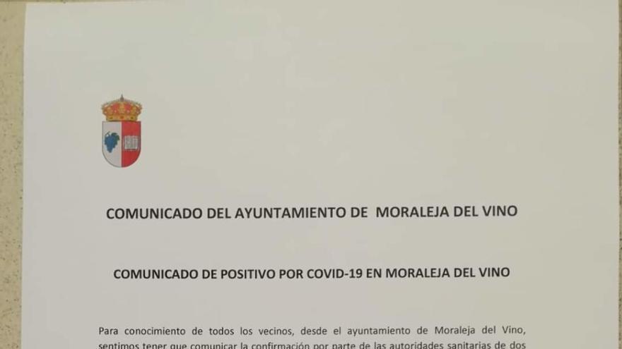 Coronavirus en Zamora | Moraleja del Vino confirma dos casos