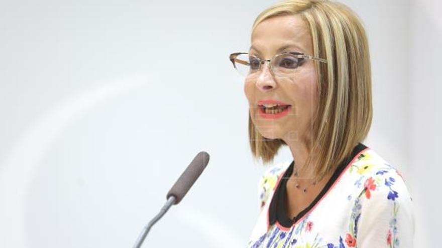 Australia Navarro (PP) lamenta  el «poco peso político» del presidente canario