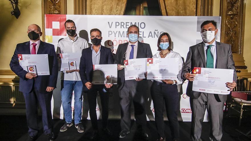 Aceitunas Torrent recibe el Premio Pyme del año 2021de Córdoba