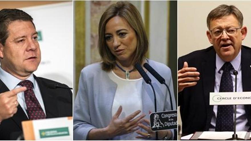 Los 17 miembros del PSOE que han presentado su renuncia