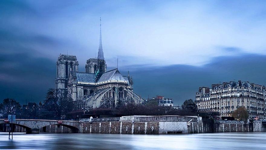 Sergi Ortín gana otro concurso en Rusia con su idea para Notre-Dame
