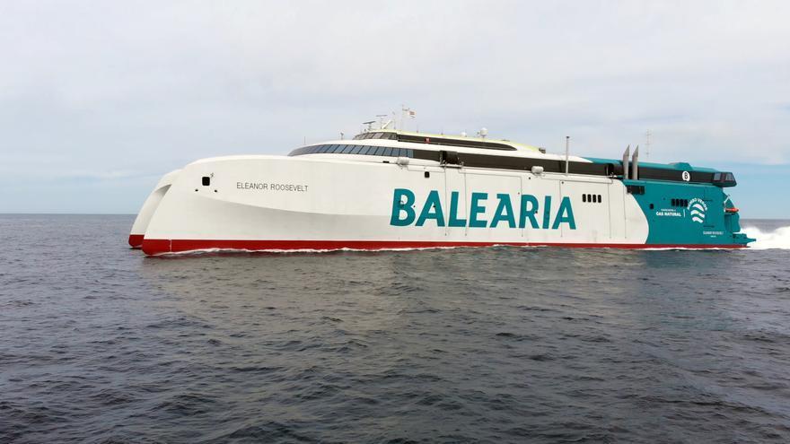 Baleària empezará a operar el sábado en Baleares con el 'fast ferry' más sostenible del Mediterráneo