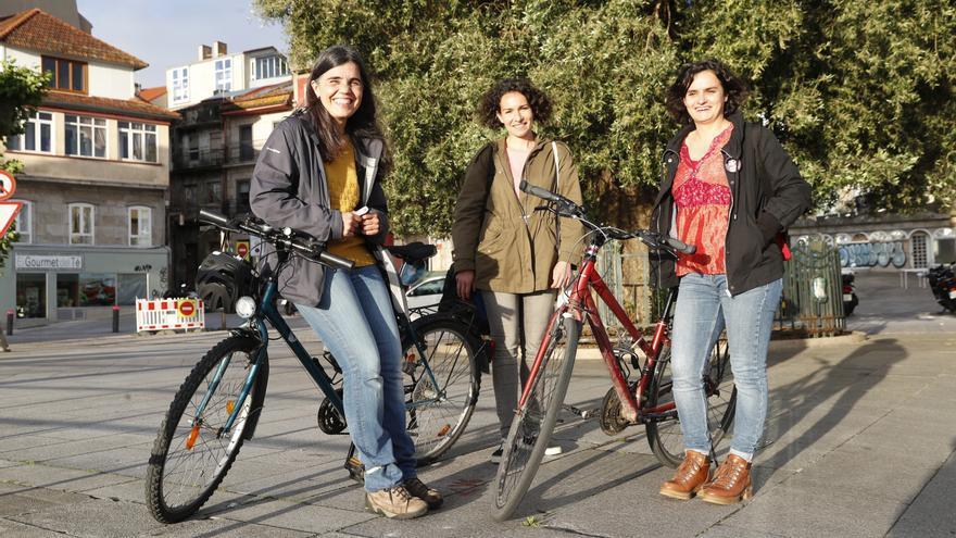 ¿Aprender a montar en bici con 70 años? En Vigo, es posible