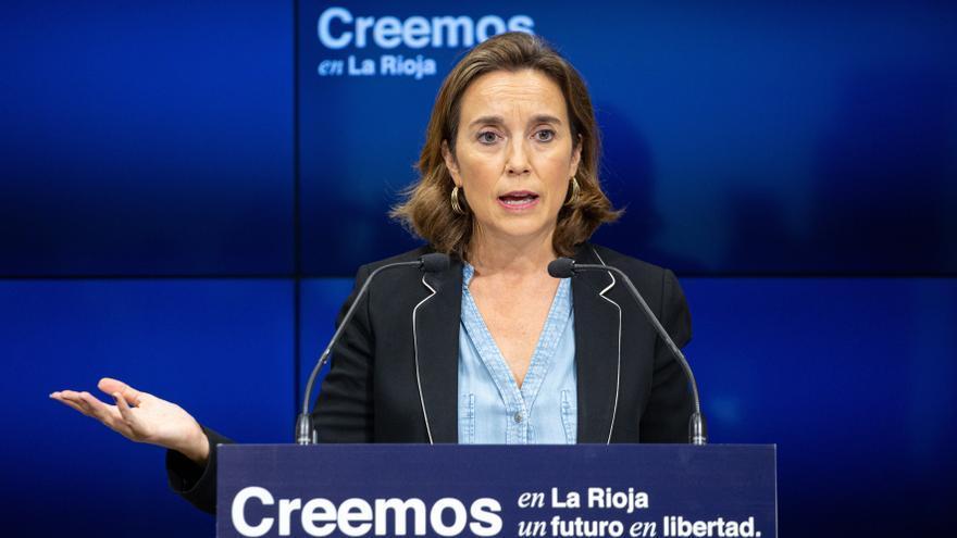 """Cuca Gamarra asegura que el """"sanchismo"""" ha devorado al socialismo clásico"""