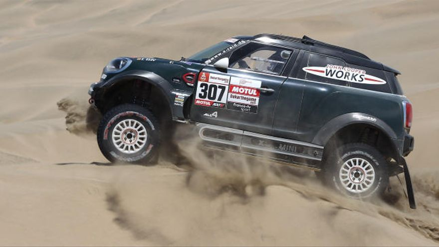 Un campeón del mundo se pasa al rally en Aragón