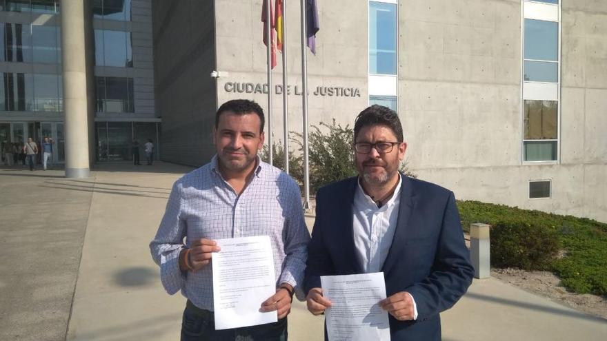 Ciudadanos entrega a la Fiscalía los audios del concejal de Cehegín