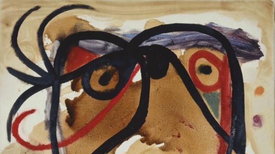 El simbolismo de Miró desembarca en A Coruña