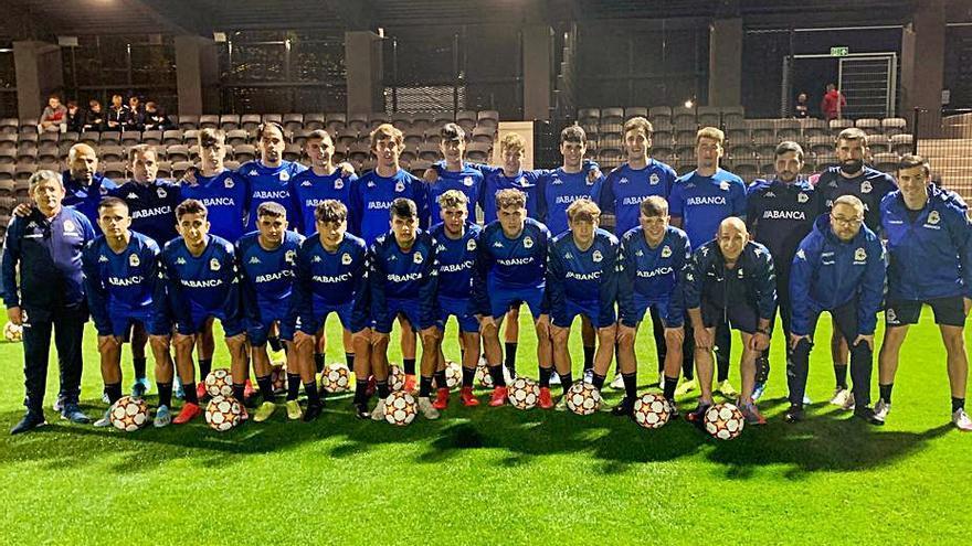 El Juvenil debuta en la Youth League