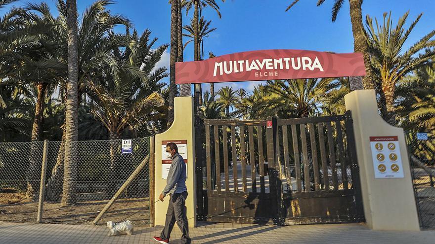 El parque multiaventura cierra de forma temporal por falta de visitas