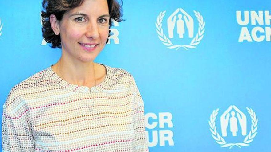 """Sophie Muller: """"Europa pide solidaridad pero hacen falta respuestas y recursos por ambas partes"""""""