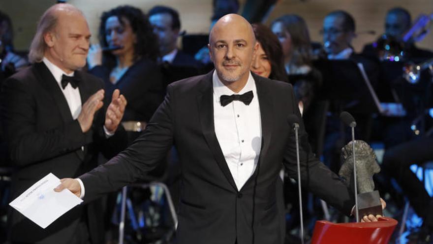 Roberto Álamo gana el Goya a mejor actor