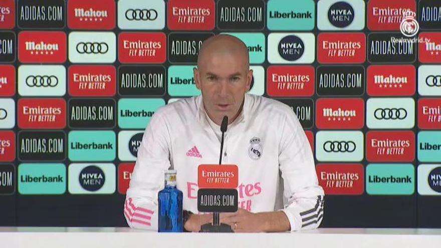 """Zidane, tras los positivos de Hazard y Casemiro: """"Es un poco desconcertante"""""""