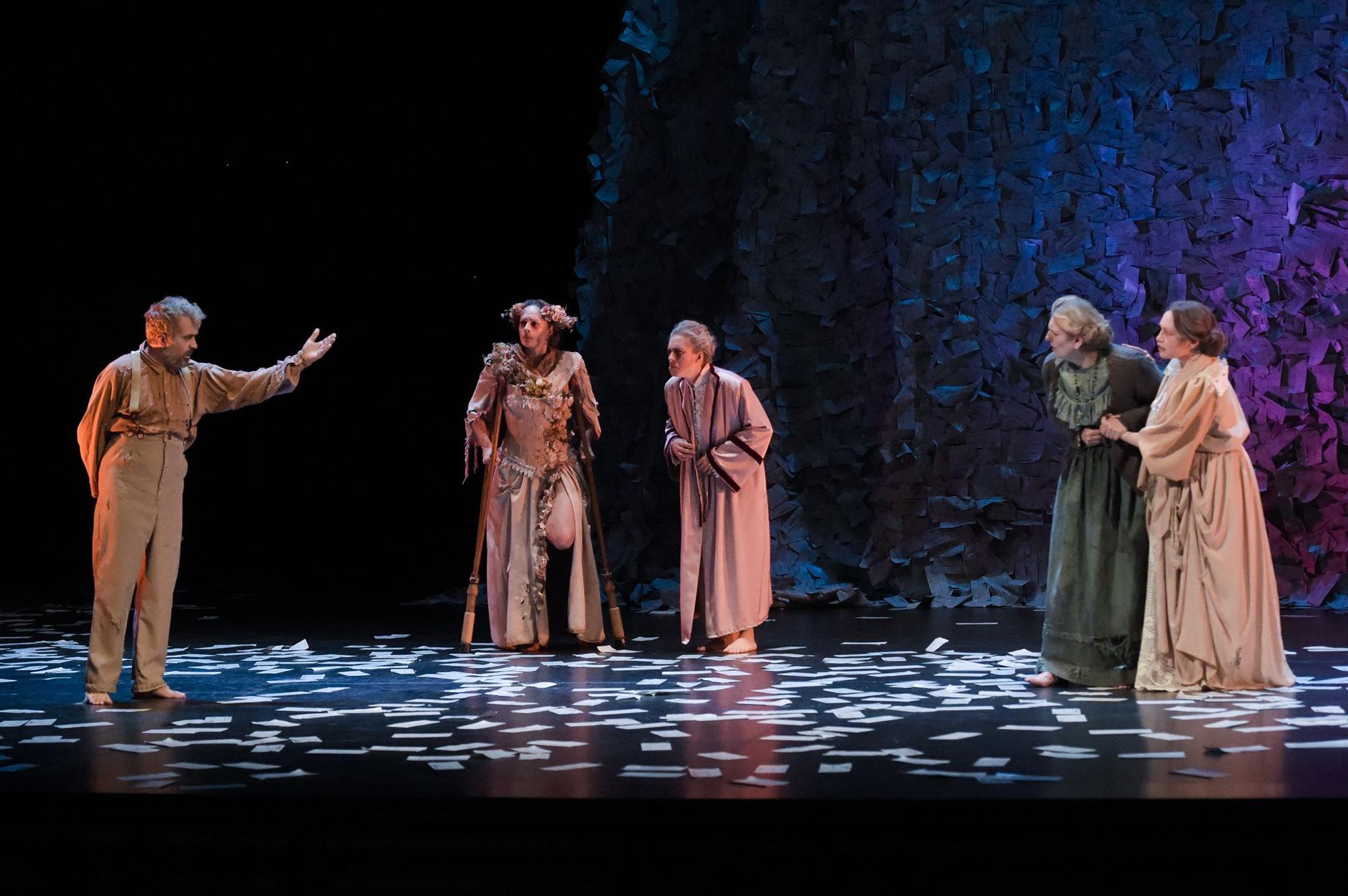 Presentación del espectáculo 'El último viaje de Galdós'