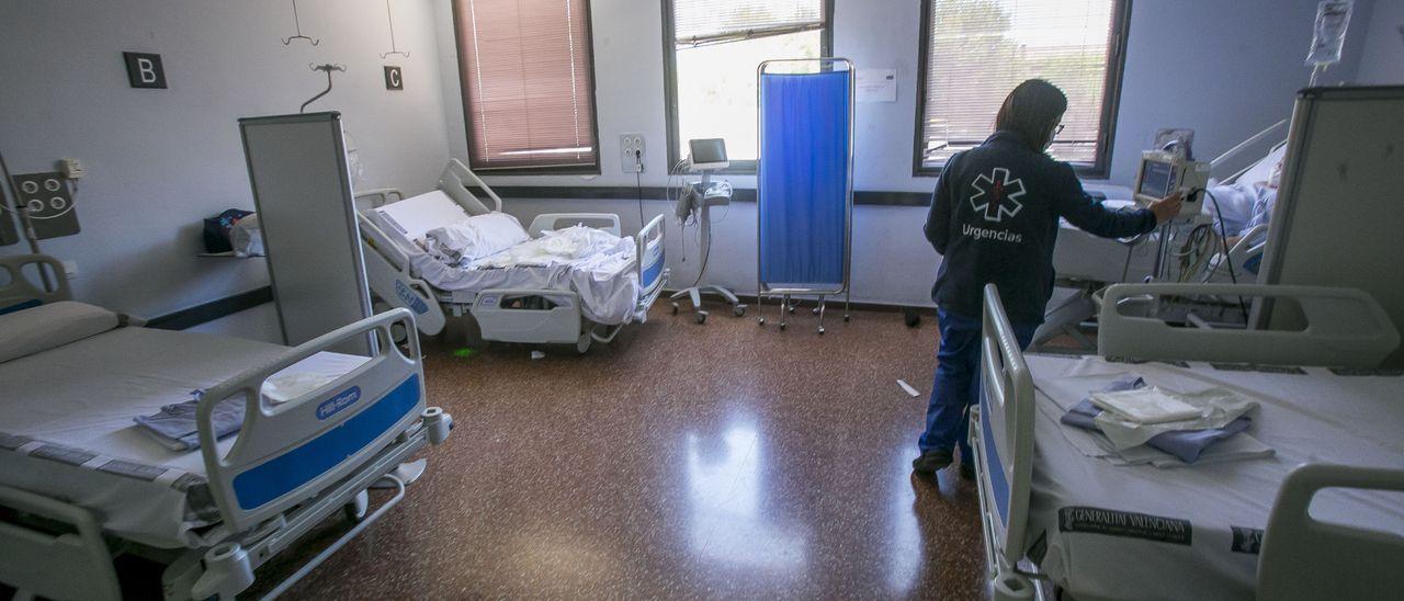 Urgencias del Hospital de Sant Joan, Alicante, imagen de archivo