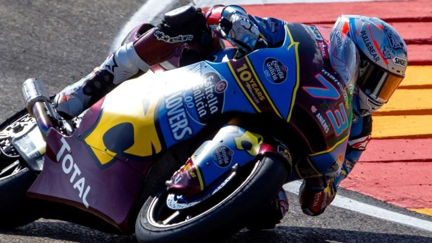 Alex Márquez, mejor tiempo en Moto2