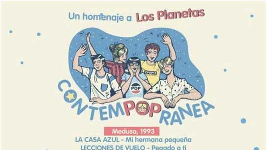 Los Planetas, grupo protagonista del festival Contempopránea de Alburquerque