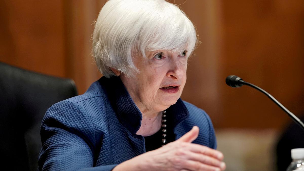 Janet Yellen, secretaria del Tesoro de EEUU.