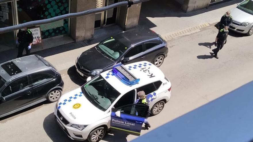 Un detingut per robar en dos supermercats de Manresa en un mateix matí