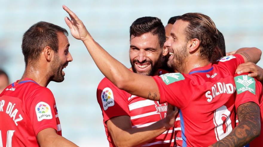 El Granada pasa el primer filtro de la Europa League goleando