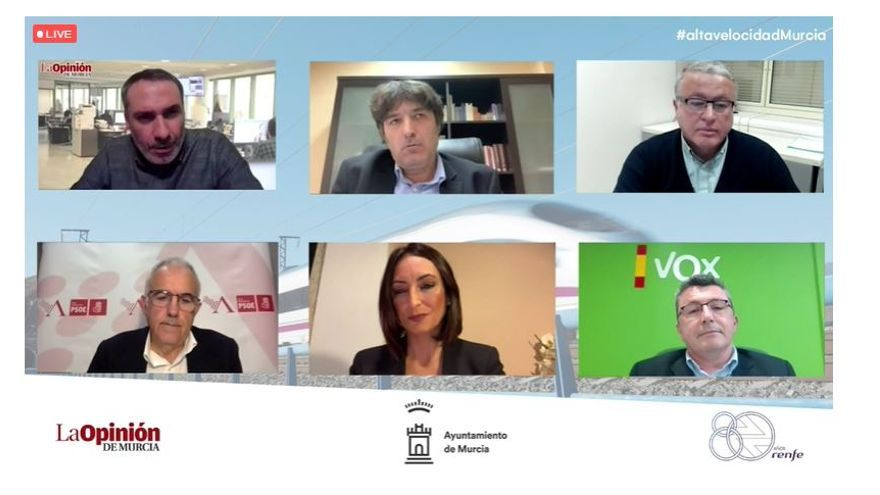 Alta Velocidad en Murcia: el análisis político