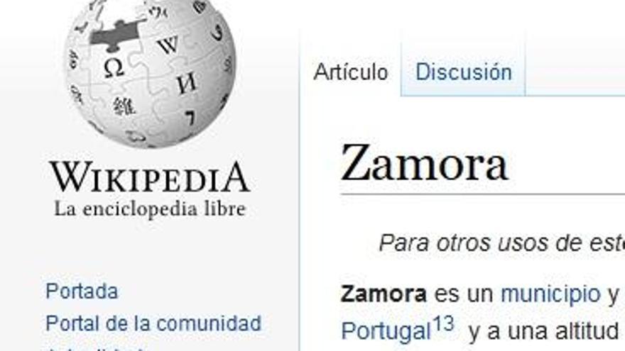 Wikipedia se adentra en Zamora
