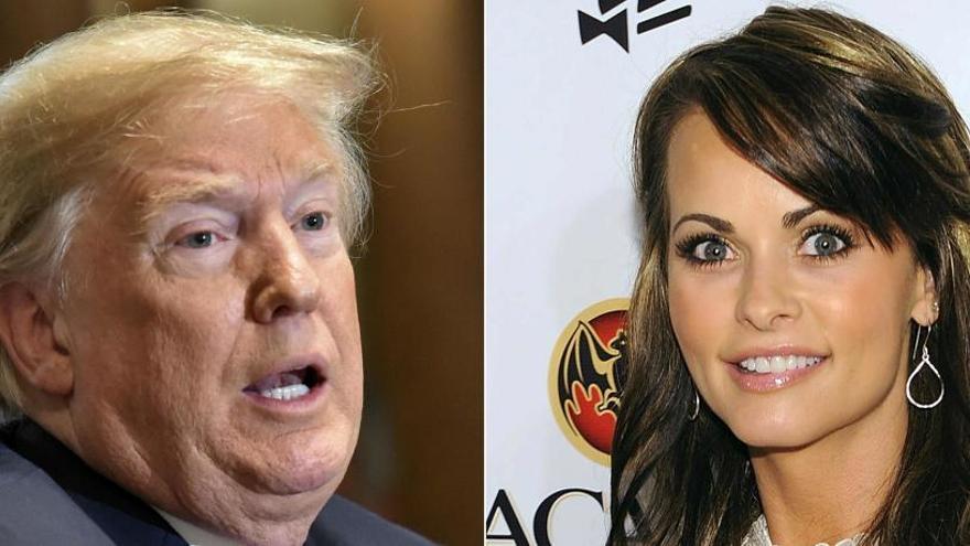 El abogado de Trump le grabó hablando de pagos a una exmodelo de Playboy