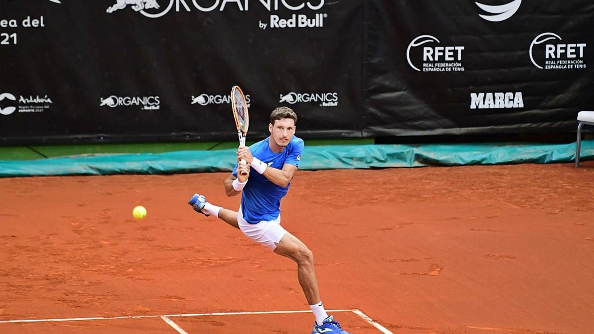 Pablo Carreño, máximo favorito en Marbella, debutó con una victoria cómoda en dos sets ante Mario Vilella.