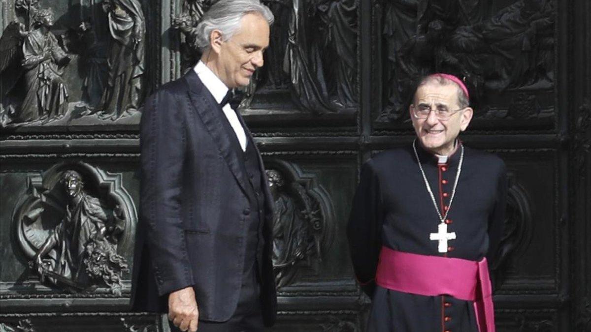 Andrea Bocelli pide perdón por decir que el confinamiento le humilló