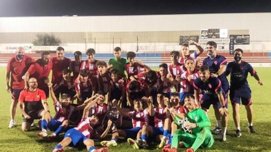 El Atlético de Madrid gana el torneo cadete alzireño en la tanda de penaltis