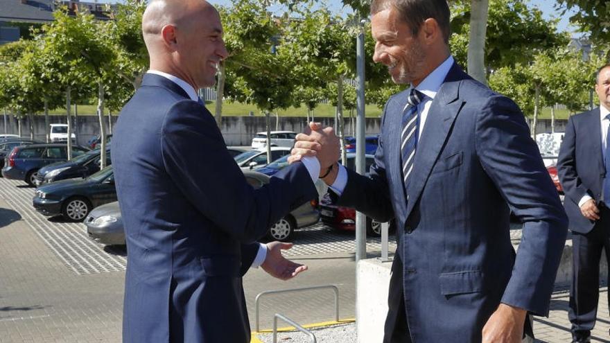 Rubiales, nuevo miembro UEFA