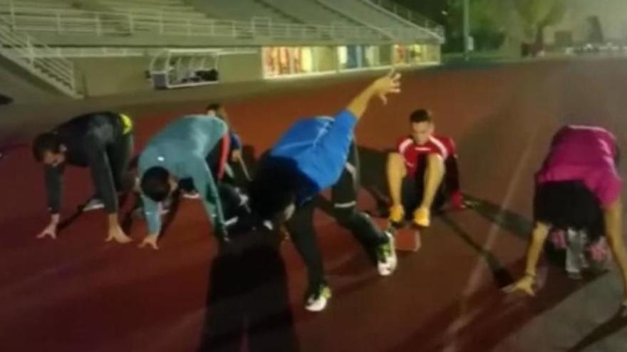 Los 'Mannequin Challenge' del deporte coruñés