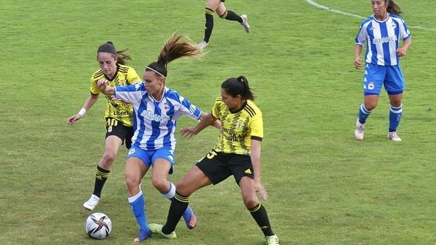 El Dépor Abanca cae por la mínima ante el Oviedo
